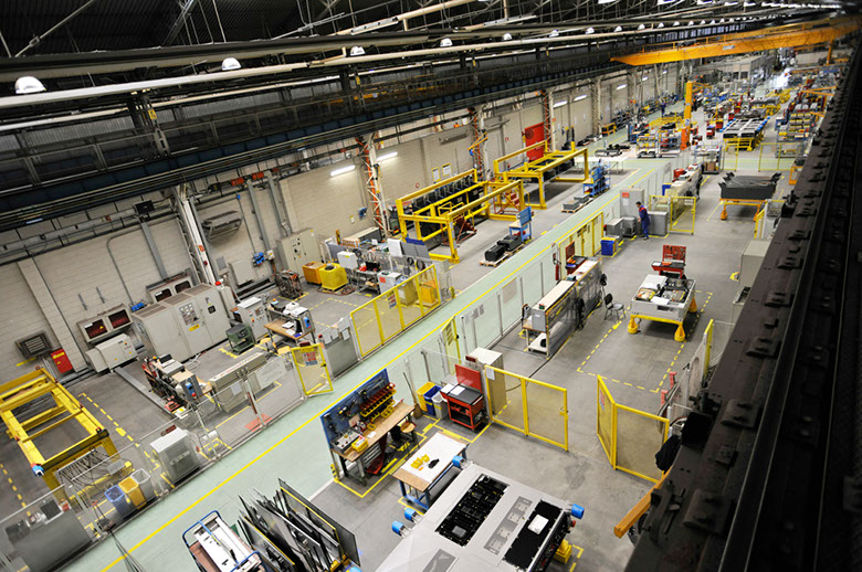 BLE Asset Tracking & Localization in Alstom Factory