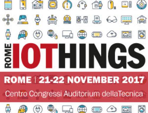 BluEpyc exhibits at IoThings Rome