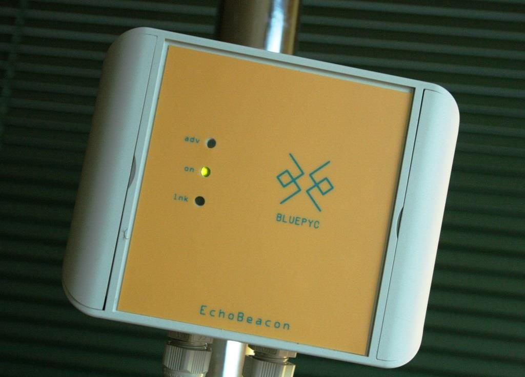 BluEpyc BLE EchoBeacon Repeater Outdoor Industrial IP 66