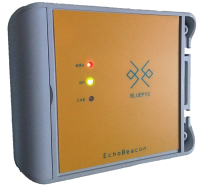 BluEpyc BLE EchoBeacon Repeater R3 Industrial IP 66 with I/O.