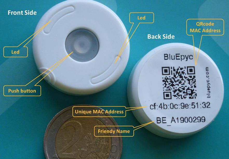 BluEpyc BLE Disk Beacon 2019 Feature