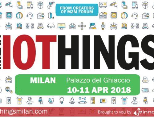 BluEpyc exhibits at IoThings Milan 2018